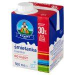 Łowicz Śmietanka łowicka UHT do ciast 30% 500 ml