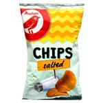 Auchan Chipsy ziemniaczane grubo krojone solone