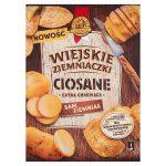 Wiejskie Ziemniaczki Ciosane Chipsy ziemniaczane grubo krojone