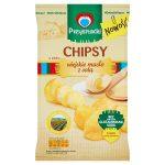 Przysnacki Chipsy o smaku wiejskie masło z solą